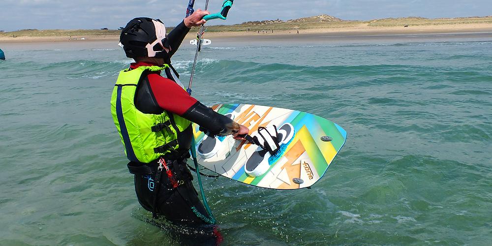 3ème étape: gestion simultanée planche et kite